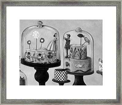 Bittersweet In Bw Framed Print by Leah Saulnier The Painting Maniac