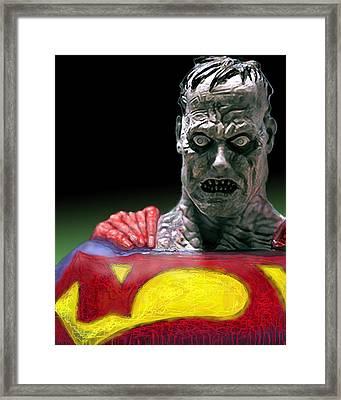 Bizarro Framed Print by Gabe Arroyo