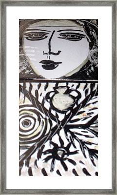 Black And White Framed Print by Catherine Walker
