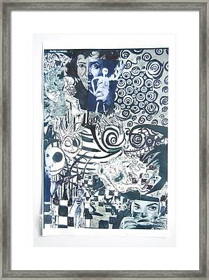 Black And White  Framed Print by Joe Ryan