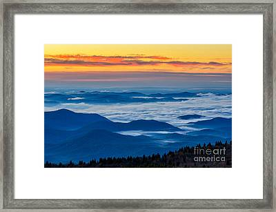 Sea Of Tranquility Framed Print by Anthony Heflin