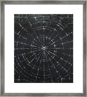 Black Bull's Eye Framed Print by Kazuya Akimoto