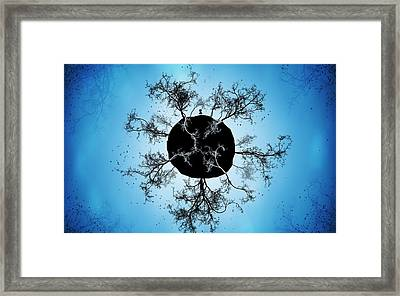 Black Earth Alone Framed Print by Gianfranco Weiss