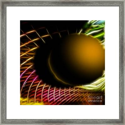 Black Hole Framed Print by Cheryl Young