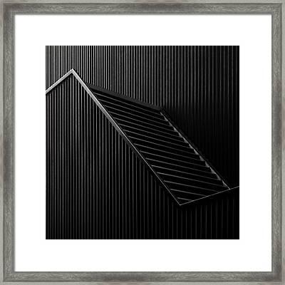 Black Light Framed Print by Gilbert Claes