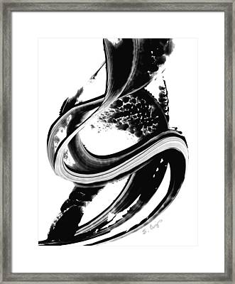 Black Magic 313 By Sharon Cummings Framed Print by Sharon Cummings