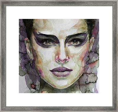 Black Swan Framed Print by Laur Iduc