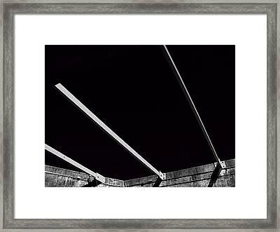 Black Velvet Framed Print by Wendy J St Christopher