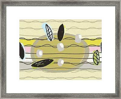 Blackbird's Ukulele Strings Framed Print by Lisa Barbero
