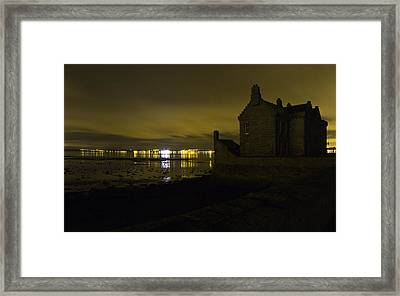 Blackness Castle Framed Print by Buster Brown