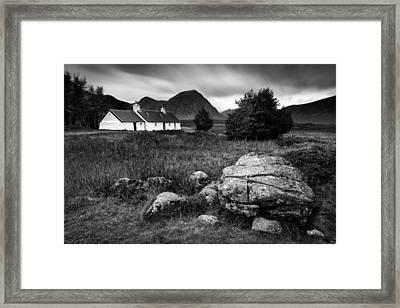 Blackrock Cottage Framed Print by Dave Bowman