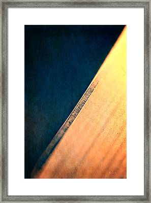 Blade Framed Print by Bob Orsillo