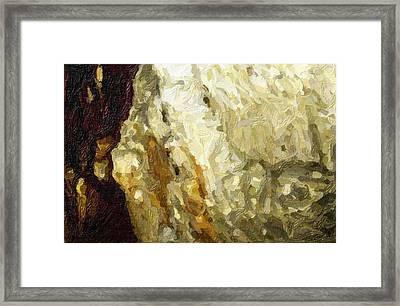 Blanchard Springs Caverns-arkansas Series 03 Framed Print by David Allen Pierson