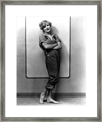 Blanche Sweet, Ca. Mid-1920s Framed Print by Everett