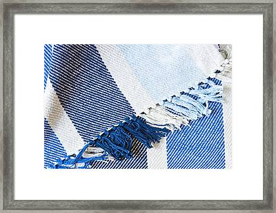 Blanket Framed Print by Tom Gowanlock