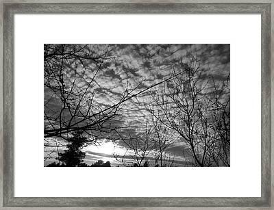 Blanketing The Sky Framed Print by Glenn McCarthy Art and Photography