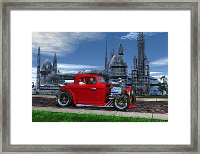 Blast From The Past Framed Print by Michael Wimer