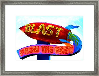 Blast From The Past Framed Print by Karen Anderson