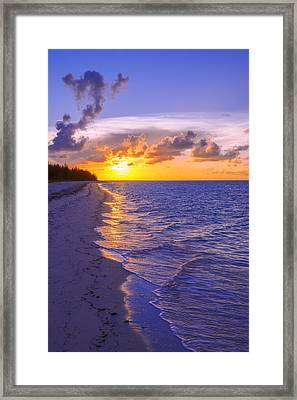 Blaze Framed Print by Chad Dutson