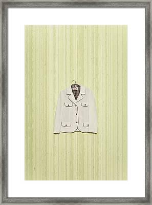 Blazer Framed Print by Joana Kruse