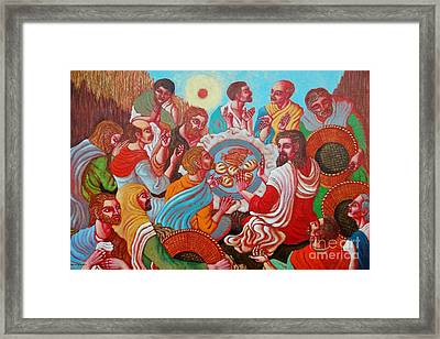 Bless This Food Framed Print by Paul Hilario