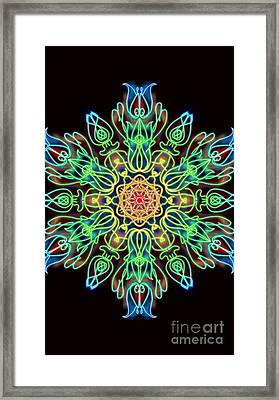 Blessing Framed Print by Uma Swaminathan