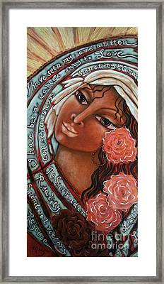 Blessings Of The Magdalene Framed Print by Maya Telford