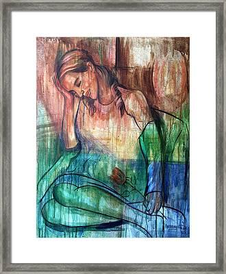 Blind Date Framed Print by Anthony Falbo
