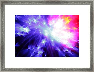 Blinded By The Light Framed Print by Dazzle Zazz