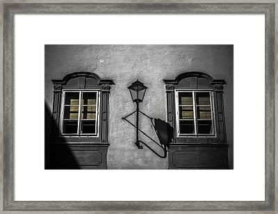 Colour Blind Framed Print by Chris Fletcher