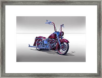 Bling Bling Studio Bike Framed Print by Dave Koontz