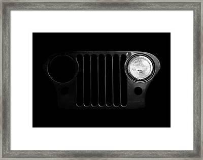 Blink Framed Print by Luke Moore