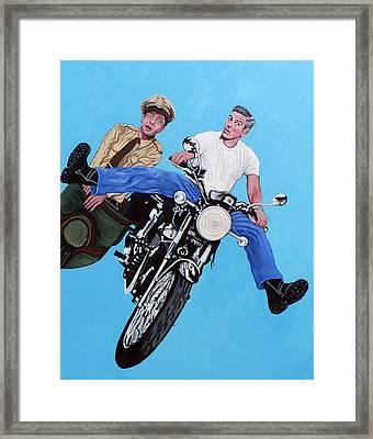 Blink Framed Print by Tom Roderick