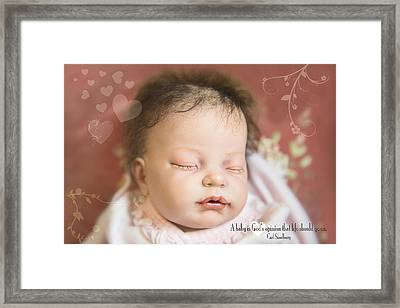 Bliss Framed Print by Bonnie Barry
