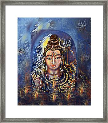 Bliss Framed Print by Harsh Malik