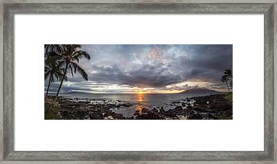 Blissful Shores Framed Print by Brad Scott