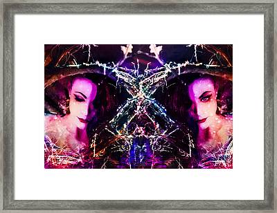 Blood Orange Roots Framed Print by Starlux  Productions