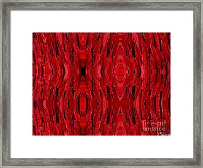 Blood Revenge-mechanical- Imaginary Texture Framed Print by David Winson