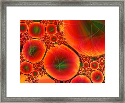 Blood Type Framed Print by Anastasiya Malakhova