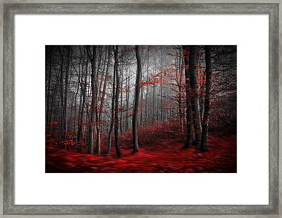 Bloody River Framed Print by Samanta