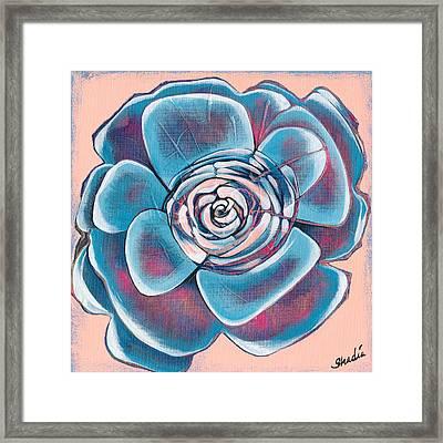 Bloom I Framed Print by Shadia Zayed