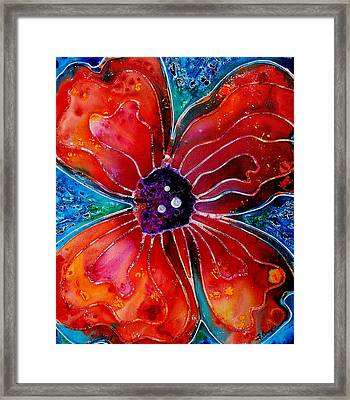 Bloom Framed Print by Sharon Cummings