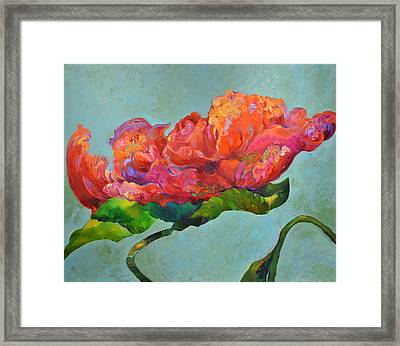 Bloom Within Framed Print by Debra Benditz