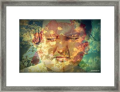 Blooming Of Deep Intents In The Soul Framed Print by Paulo Zerbato