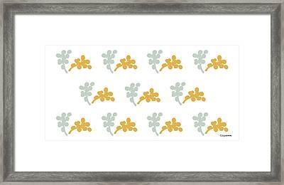 Blossom Di Framed Print by Carmen Guedez
