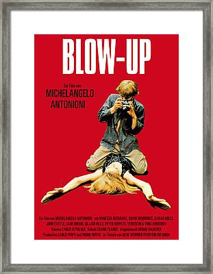 Blow Up - 1966 Framed Print by Georgia Fowler