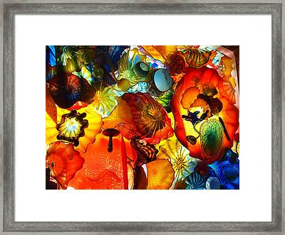 Blown Glass Framed Print by Dan Sproul