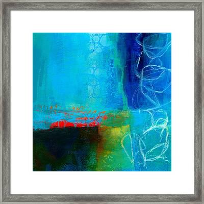 Blue #2 Framed Print by Jane Davies