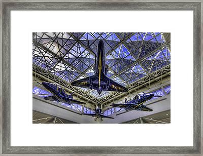 Blue Angels Framed Print by Tim Stanley