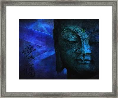 Blue Balance Framed Print by Joachim G Pinkawa